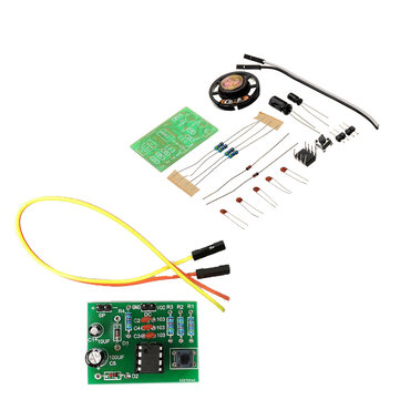 DIY NE555 Ding Dong Bell Doorbell Module Kit DIY Music DIY Electronic Production Training Kit
