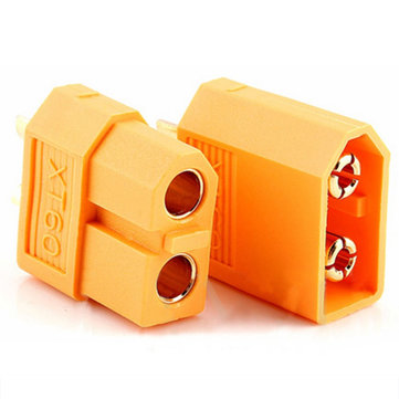 Excellway® 20Pcs XT60 500V 30A Male & Female Bullet Connectors Plug Sockets