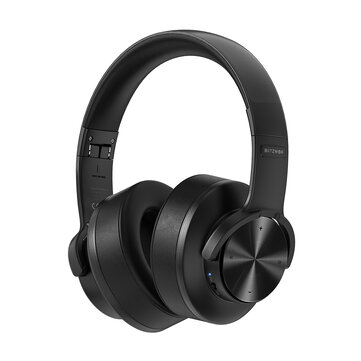 BlitzWolf® BW_HP2 bluetooth V5.0 Headphone Wireless Headset 50mm Driver 1000mAh Touch Control Foldable Over_Ear Gaming Headset with Mic