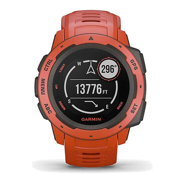 Garmin Instinct Rugged GPS 10 ATM Waterproof Smart Watch 3 axis Compass Fitness Exercise Bracelet