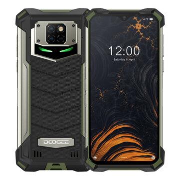 DOOGEE S88 Pro Global Version 6.3 pulgadas FHD + IP68 / IP69K Impermeable NFC 10000mAh Carga inalámbrica inversa Android 10 6GB 128GB Helio P70 4G Smartphone