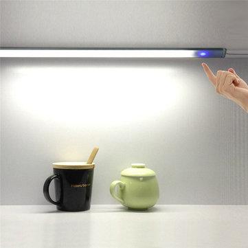 6W LED USB Touch Sensor Dimbar LED-lampa för sovrumsskåp DC 5V