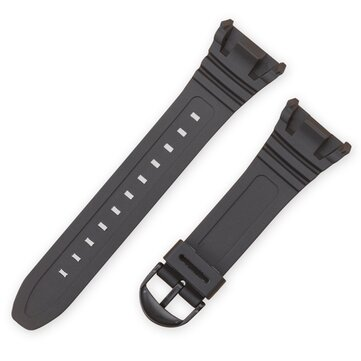 PU Black Strap Replacement Watch Band for CASIO W-96H