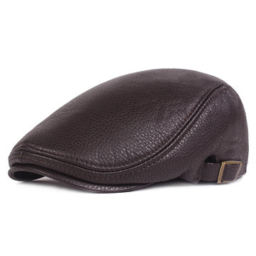 How can I buy  Unisex Mens PU Leather Painter Beret Hat Outdoor Golf Driving Flat Cabbie Newsboy Cap with Bitcoin