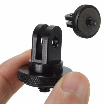 1/4 Inch Tripod Screw Adapter For GoPro Hero 4 3 Plus 3 2 Xiaomi Yi SJ4000 SJ5000 SJcam