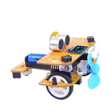 XIAO R DIY Smart RC Car Wifi Infrared Control Mixly STEAM Scratch Graphical Programmable Educational Robot Kit