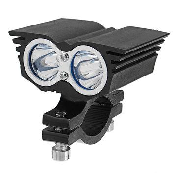 Coppia 12 / 24V 20W 6000K Eagle Oculare Styling LED Proiettore Faro del faro Faro anteriore ausiliario lampada