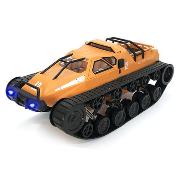 12% OFF For Eachine EAT06 1/12 2.4G Drift RC Tank Car High Speed Full nincsportional Control Vehicle Models With Head Light