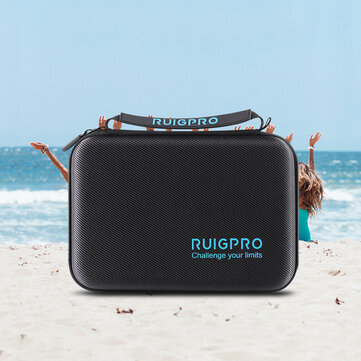 RUIGPRO Handbag Waterproof Multi-function Package Camera Storage Bag Carrying Box For Insta360 ONE R 4K Action Camera