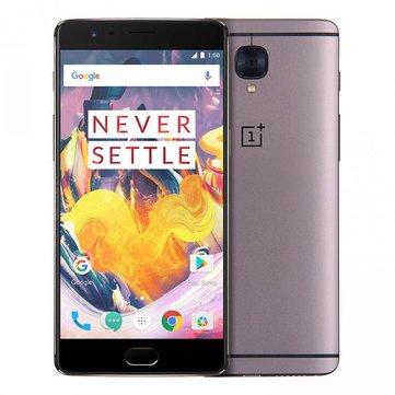 OnePlus 3T 5.5 Pulgadas Huella digital 6GB RAM 128GB ROM Snapdragon 821 Quad Core 4G Smartphone
