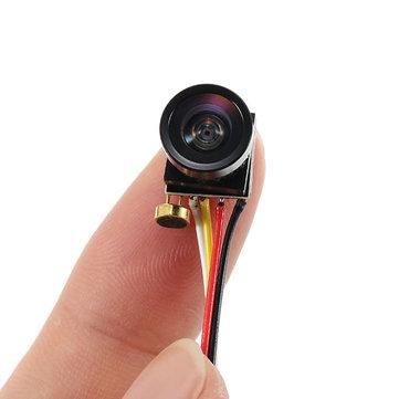 Super Mini 1000TVL FOV120 Degree 1/4 CMOS 2.8mm Lens 3.3-5V FPV Camera