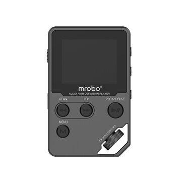 Mrobo C5 1.8 Pollici TFT Screen 8GB DAC HIFI Lossless MP3 Music Player Registratore vocale