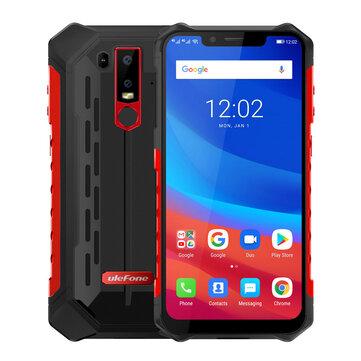 Ulefone Armor 6 NFC IP68 IP69K Impermeabile 6,2 pollici 6 GB 128 GB Helio P60 Octa core 4G Smartphone