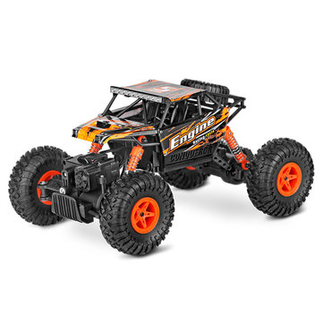 Wltoys 18428-B 1/18 2.4G 4WD Brushed Racing Rc Car Rock Climbing Monster Truck Toys COD
