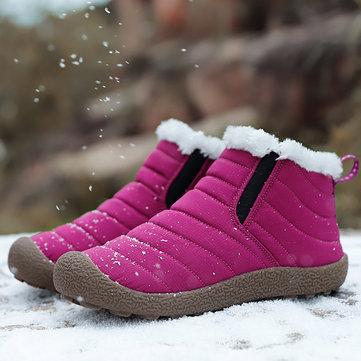 आउटडोर घुटने के जूते पर निविड़ अंधकार गर्म बर्फ पर्ची