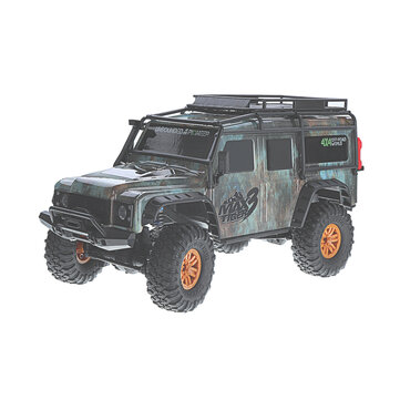HB Toys ZP1001 1/10 2.4G 4WD Rc Car Proportional Control Retro Vehicle w/ LED Light RTR Model