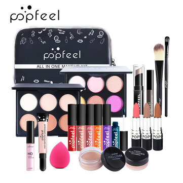 Buy POPFEEL 12Pcs Makeup Set Full Lipstick Isolated Eye Shadow Makeup Combination Cosmetics with Litecoins with Free Shipping on Gipsybee.com