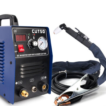 CT50 220V 50A Plasma Cutter Plasma Cutting Machine with PT31 Cutting Torch Welding Accessories Coupon Code and price! - $179