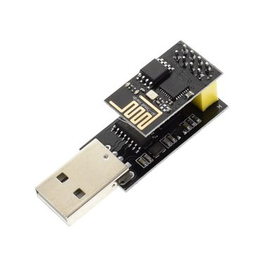 Geekcreit® ESP8266 ESP01 WIFI Transceiver Wireless Module + USB To ESP8266 Serial Adapter Wireless WIFI Develoment Board
