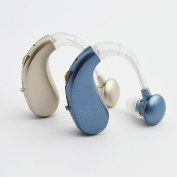 Bakeey GE T10 Portable Mini Rechargeable Wireless Hearing Aids Sound Amplifier with Storage Bag for the Elderly Deafness