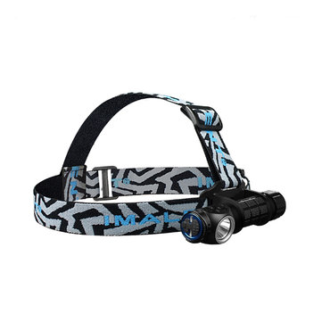Imalent 20-28mm High Quality Nylon Adjustable LED Headlamp Headband