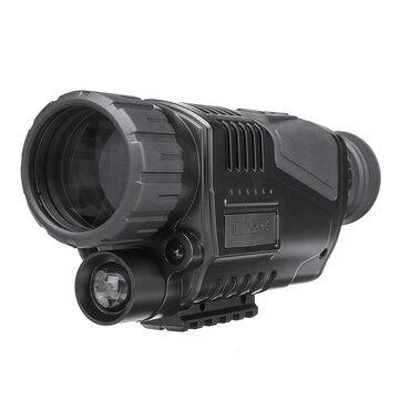 5x40 Digital Night Vision Monocular FMC Infrared Telescope Video Camera Telephoto Support