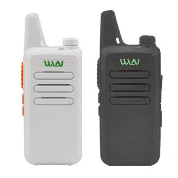 WLN KD-C1 Mini UHF 400-470 MHz Handheld Transceiver Two Way Ham Radio HF Communicator Walkie Talkie