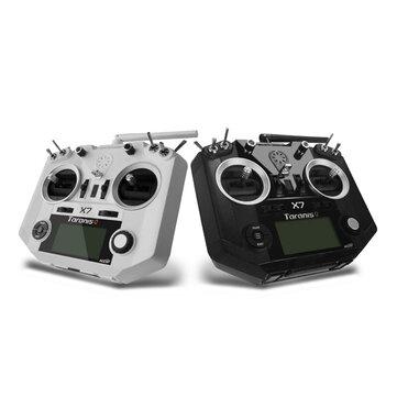 FrSky ACCST Taranis  Q X7トランスミッタ 2.4G 16CH ホワイト ブラック インターナショナル バージョン
