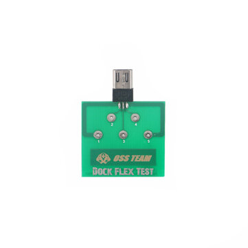 Micro USB 5 Pin PCB Test Board for Android Mobile Phone Battery Power Charging Dock Flex Easy Test Tool
