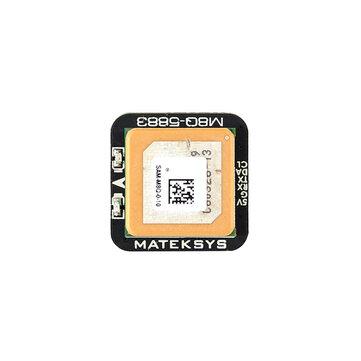 Matek 시스템 M8Q-5883 SAM-M8Q GPS & QMC5883L RC 드론 FPV 레이싱 용 나침반 모듈