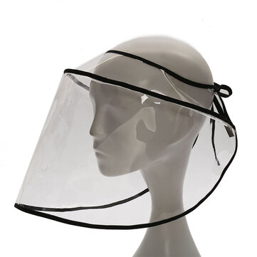 Women's Sun Protection Hats Anti-spray Spray Anti-dust See Through Bucket Hat for sale in Litecoin with Fast and Free Shipping on Gipsybee.com