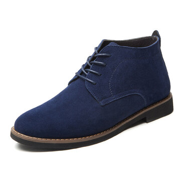 Lace Soft Leather Business Round Toe Oxfords Formal Shoes