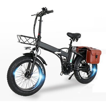 [EU Direct] CMACEWHEEL GW20 48V 15Ah 750W 20in Folding Electric Bike with Bag