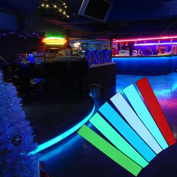 12X2 Pollici 12 V Nastro Elettroluminescente Flessibile EL Luci per Retroilluminazione a Pannello con Invertitore