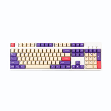 How can I buy 128 Keys Plum PBT Keycap Set Cherry Profile Sublimation Custom Keycaps for Mechanical Keyboards with Bitcoin