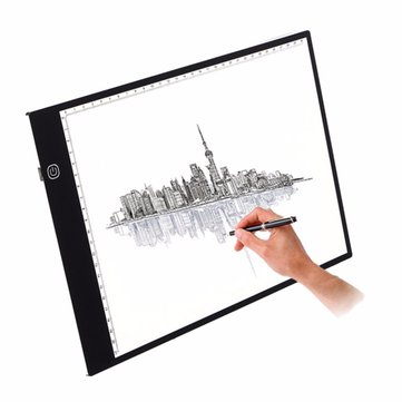 M.Way Ultra Thin A3 LED Copy With USB Cable Adjustable Brightness Drawing Pad Tracing Copy Board