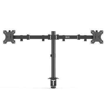 DouxLife® MS_DA01 Dual Monitor Stand Full Motion Dual Mount Quick Insert Dynamic Height Adjustability for 13″_27″ Screen Home Office