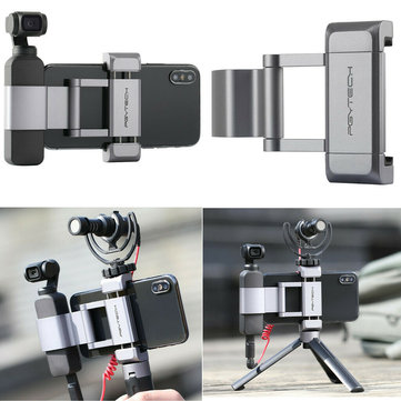 PGYTECH Osmo Pocket Phone Holder Bracket 1/4 Inch Mount Adapter Accessories For DJI Gimbal Mobile Smartphone