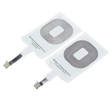 Cargador inalámbrico Qi Cargador Receptor Cargador Pad para Iphone 5S 5C 6 6 plus