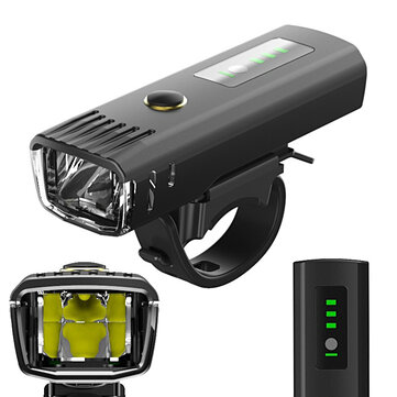 XANES SFL12 650LM LED German Standard Smart Light Sensor Mountain Road Bike Bicycle Light Anti-glare Design USB Rechargeable Waterproof