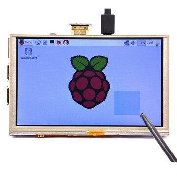 5 Inch 800 x 480 HD TFT LCD Touch Screen For Raspberry PI 3 Model B/2 Model B/B+/A+/B