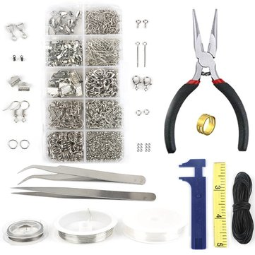 DIY Bracelet Necklace Jewelry Accessories Tool Set Wire Package DIY Jewelry Kits