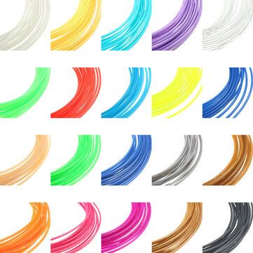 8色×10M 1.75mmユニバーサルABS 3Dプリンタ用フィラメント