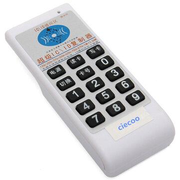 Cầm tay 125Khz-13,56MHZ 9 tần số RFID Sao chép / Máy photobản sao