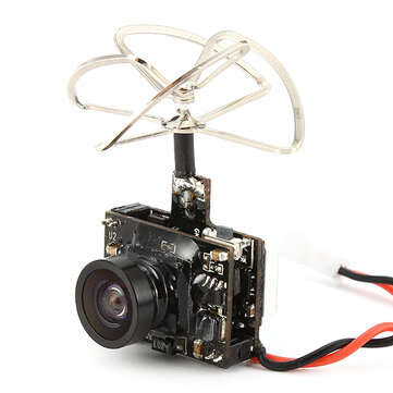 Eachine TX03 NTSC Super Mini 0/25mW/50mW/200mW Switchable AIO 5.8G 72CH VTX 600TVL 1/3 Cmos FPV Camera