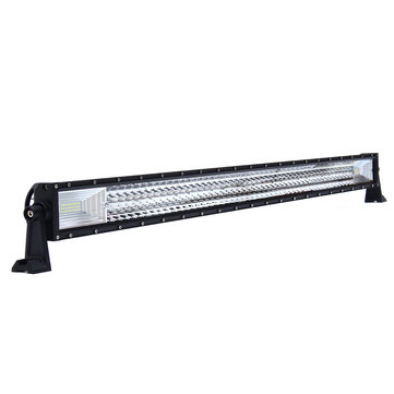 42Inch Tri-row 594W LED Work Light Bars Flood Spot Combo Beam White for Jeep Truck Off Road