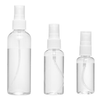 How can I buy 1-10pc 30/50/100ML Empty Clear Plastic Spray Bottle Travel Mini Perfume Atomizer with Bitcoin