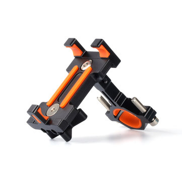 BIKIGHT BH01 AL6061-T6 Bicycle Phone Holder Bracket for Phone GPS Device Up To 6.5 Inch Non-slip Shockproof