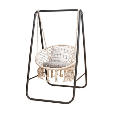 Metal Hammock A Shape Frame Chair Stand Swinging Seat Replacement Frame Cotton Hammock Chair Sale Banggood Com Arrival Notice Arrival Notice