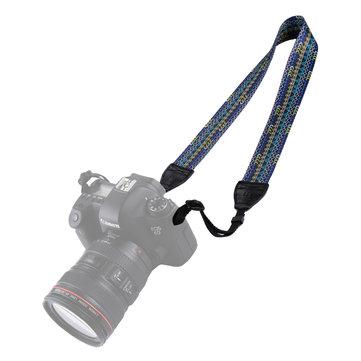 PULUZ PU6008A Kiểu dây đeo cổ nhiều màu theo phong cách dân tộc retro cho máy ảnh DSLR DSLR